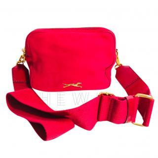Bimba Y Lola Red Nylon Cross-Body Bag