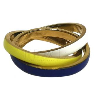 Uncommon Matters Interlocking Lacquered Ring