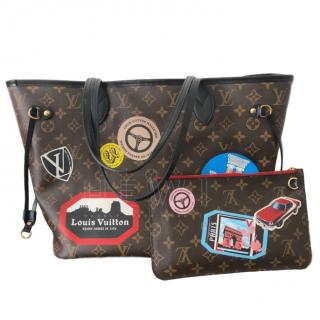 Louis Vuitton Limited Edition World Tour Monogram Tote