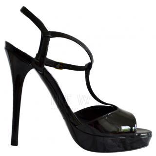 Ralph Lauren Black Platform Sandals