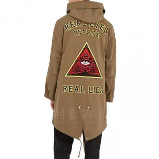 Givenchy Real Eyes Realize Real Lies Khaki Parka