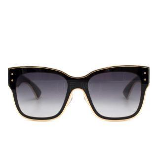 Moschino Oversized Square-Frame Sunglasses