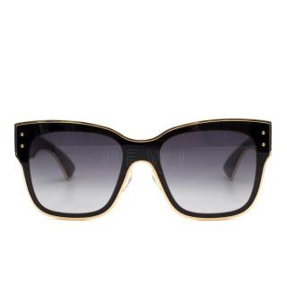 Moschino Oversized Square-Frame Sunglasses