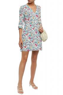 Ba&Sh Floral-Print Shift Dress