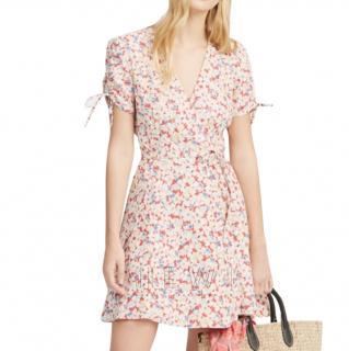 Polo Ralph Lauren Floral-Print Crepe Wrap Dress