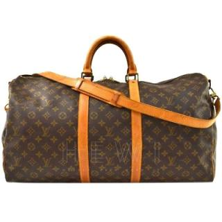 Louis Vuitton Keepall Bandouliere Monogram Boston Bag