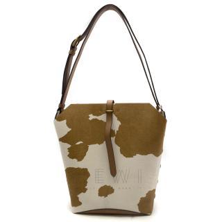Tory Burch Rowan Calf Hair Bucket Bag - Current Season
