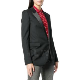 Saint Laurent Virgin Wool Le Smoking Jacket