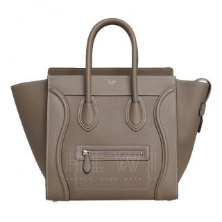 Celine Small Luggage Souris Leather Tote
