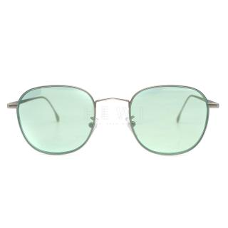 Paul Smith Arnold Silver Pilot Sunglasses - Current Season