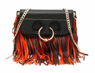 J.W. Anderson Mini Pierce Fringed Leather Bag