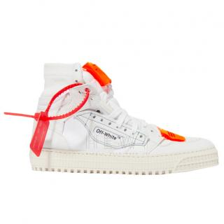 Off-White Off-Court White High-Top Trainers - Current Season