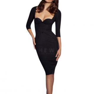 Agent Provocateur Thora Sweetheart-Neckline Dress