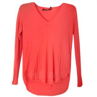 Lauren Ralph Lauren Coral Sweater