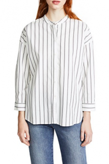 Joie Poni Striped Shirt
