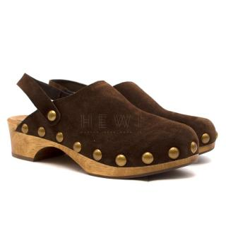 Tory Burch Blythe Studded Clogs - Current Season