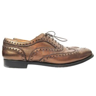 Church's Burwood Bronze Leather Oxford Shoes