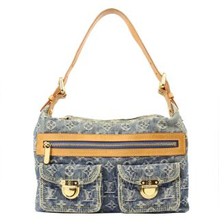 Louis Vuitton Denim Baggy PM Shoulder Bag