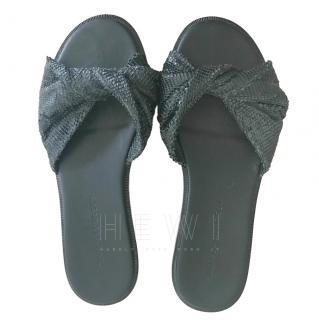 Sigerson Morrison Snake-effect Sandals