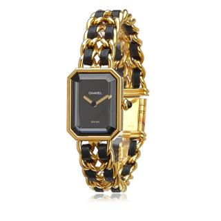 Chanel Gold Tone Premiere Chaine Watch