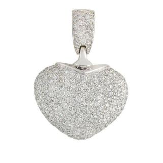Jacob & Co Diamonds Necklace Hearth Charm