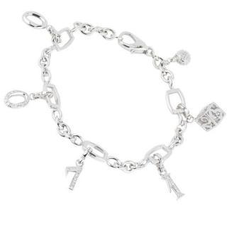 Franck Muller White Gold Talisman Diamond Bracelet