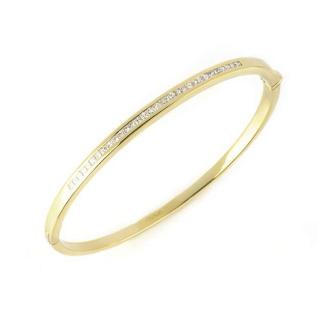 Bespoke 18k Yellow Gold Diamond Set Bangle