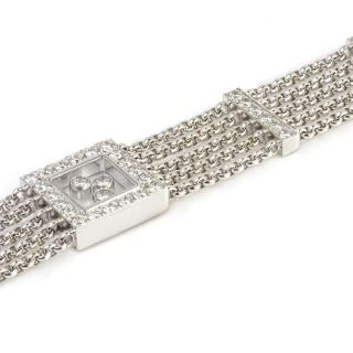 Chopard White Gold Multi Chain Bracelet 18k