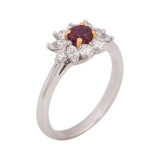 Tiffany & Co. Ruby and Diamonds Ring