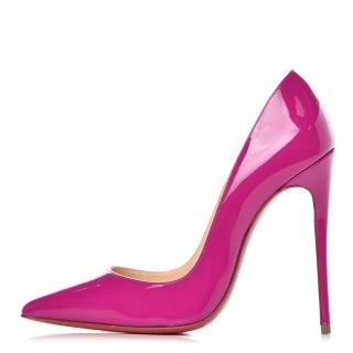 Christian Louboutin So Kate Ultra Rose Patent Leather Pumps