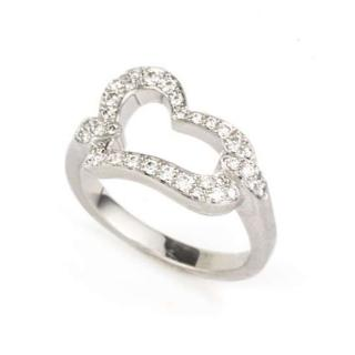 Piaget 18k White Gold Diamond Ring