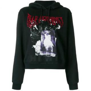McQ Alexander by McQueen Fear Nothing-Print Sweatshirt