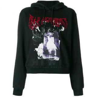 McQ Alexander by McQueen Fear Nothing-Print Sweatshirt