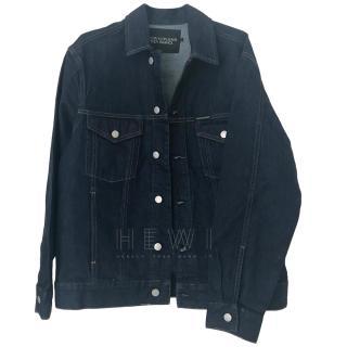 Calvin Klein x Andy Warhol Eisteine-Print Denim Jacket