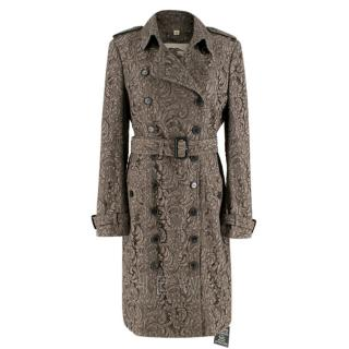 Burberry Dartford Lace Trench Coat