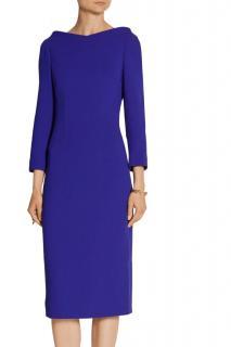 Antonio Berardi V-back Blue Dress
