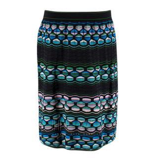 Missoni Abstract-Knit Mini Skirt
