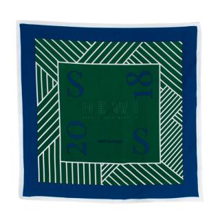 Self-Portrait Green S/S18 Runway Scarf