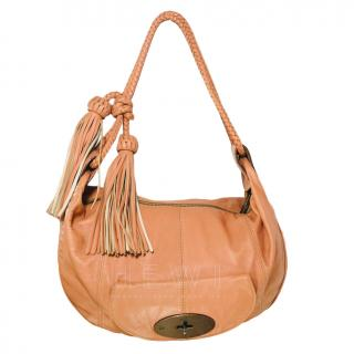Mulberry peach leather Araline shoulder bag