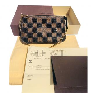 Louis Vuitton Damier Paillettes Sequin Bag