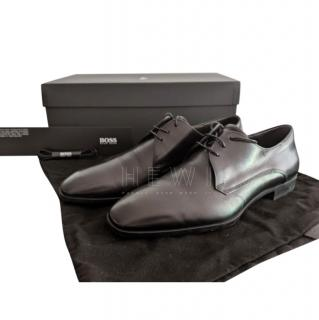 Hugo Boss Black Leather Derby Shoes