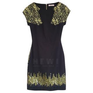 Matthew Wiliamson Embellished-Shoulder Dress