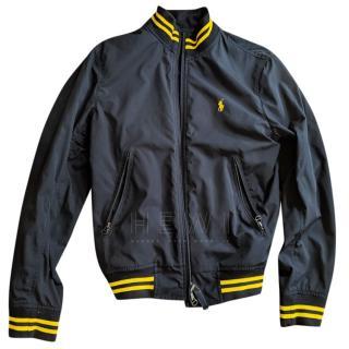 Ralph Lauren Polo navy baseball jacket