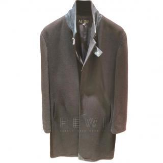 Armani Jeans Single Breasted Overcoat