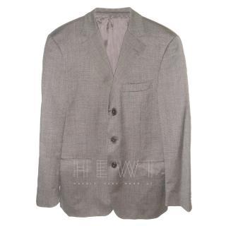 Ermenegildo Zegna Single Breasted Wool Blazer