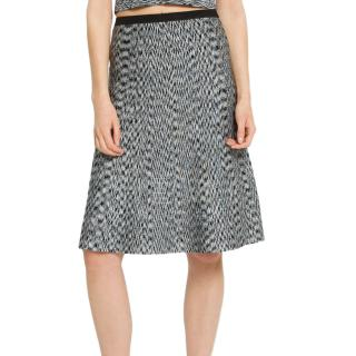Sandro Joa A-line Knit Skirt