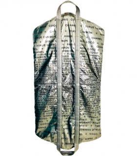 Chanel Black & Silver Rue Cambon Garment Bag