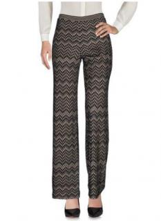 Missoni Zig Zag Knit Wide Leg Trousers