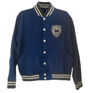 Polo Ralph Lauren Blue Varsity Jacket