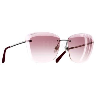 Chanel Pink Butterfly 4211 Sunglasses